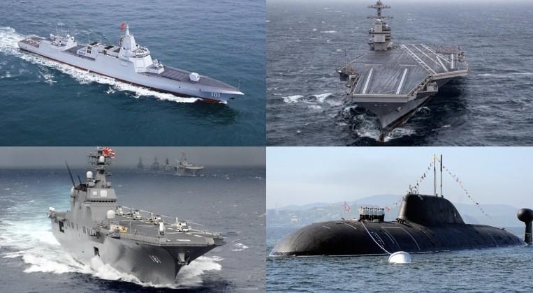 Hải quân nước nào sẽ làm thủ lĩnh đại dương trong thập kỷ tới?