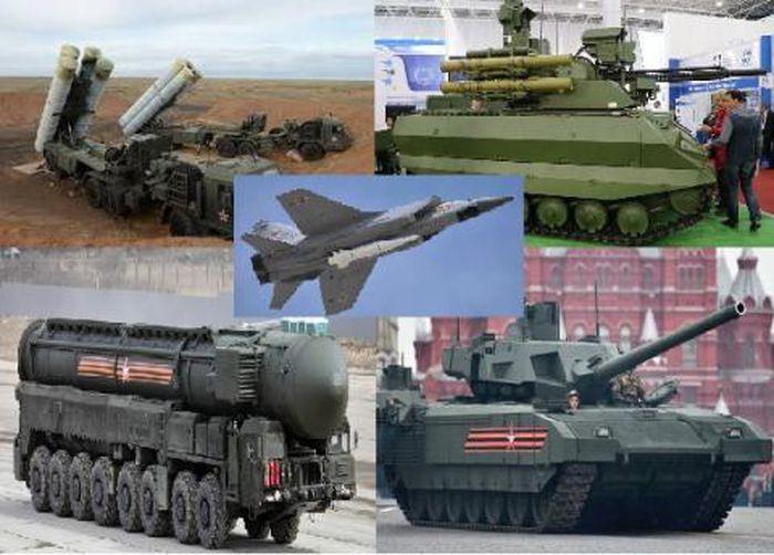 Tạp chí Mỹ vinh danh 5 vũ khí khủng nhất tại Lễ duyệt binh Nga