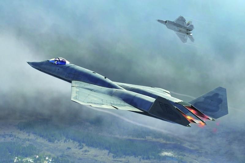 """F-22 Raptor và cuộc chiến giành sự sống trước """"người anh em song sinh"""""""