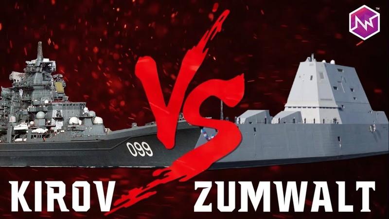 Khu trục hạm Zumwalt 4 tỷ USD có đánh chìm được tàu chiến Kirov?