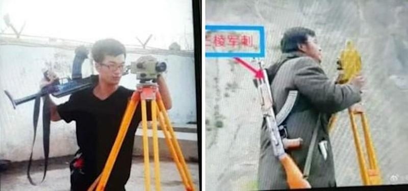 Choáng: Công nhân Trung Quốc ở Pakistan mang súng AK-47 đi làm!