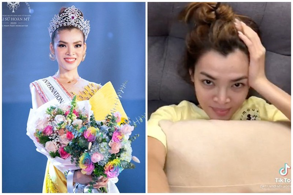 """Tân Hoa hậu Chuyển giới Việt Nam 2020 bị """"bóc"""" nhan sắc thật"""