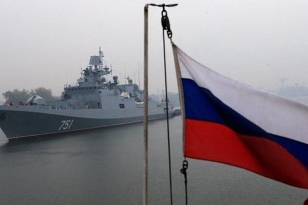 Tàu chiến Nga tập trận quy mô lớn ngay sát nách Syria