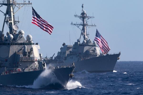 Tàu khu trục Mỹ lừng lững áp sát đảo nhân tạo phi pháp của Trung Quốc - quE1BAA3ng20cC3A1o20pqa20lE1BBABa20C491E1BAA3o