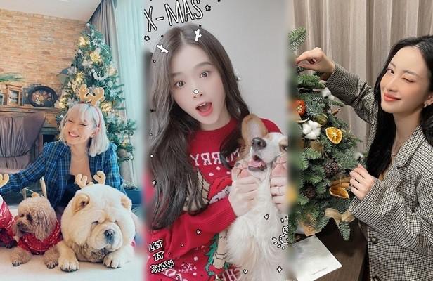 Hot girl Việt xinh tươi rạng ngời đón Giáng sinh