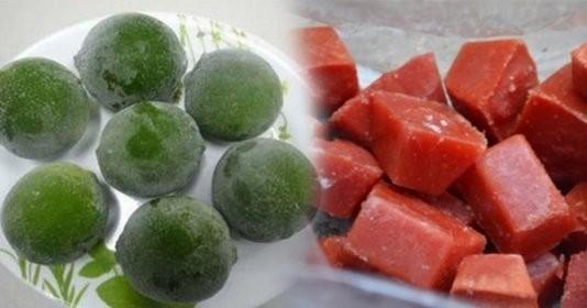5 thực phẩm chỉ cần đông đá giúp da cải lão hoàn đồng