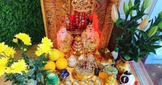 Ngày 1/5 âm: Đặt 4 thứ này lên bàn thờ Thần Tài kích hoạt vận may