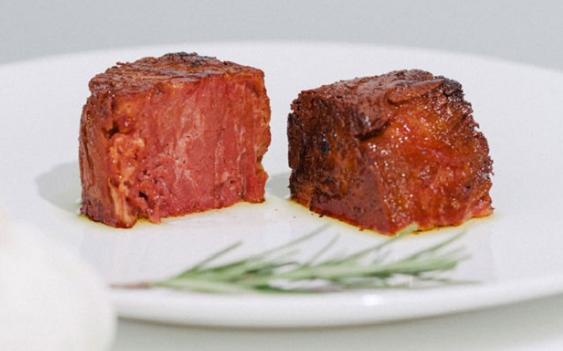 Độc đáo thịt làm từ rau và các loại hạt, thơm ngon không kém thịt thật