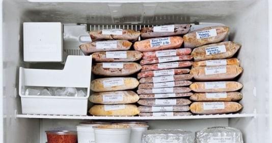 Bảo quản thực phẩm trong ngày giãn cách: Để 2-3 tuần vẫn như mới