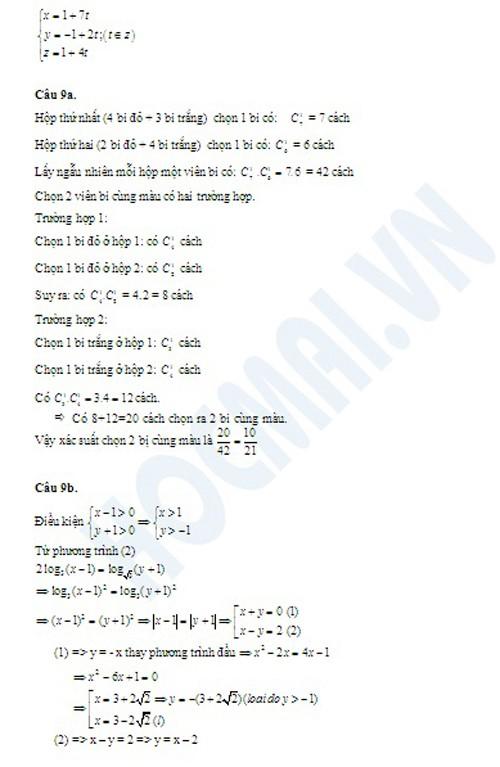 Goi y dap an mon Toan khoi B nam 2013-Hinh-9