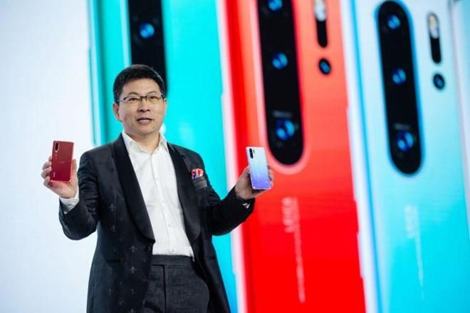 Smartphone Huawei van