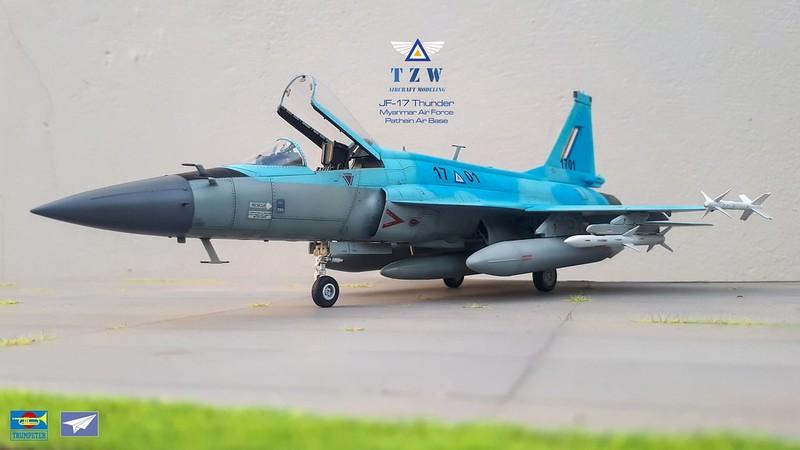 Trung Quoc ban tiem kich JF-17 Thunder cho Myanmar voi gia re khong tuong-Hinh-2
