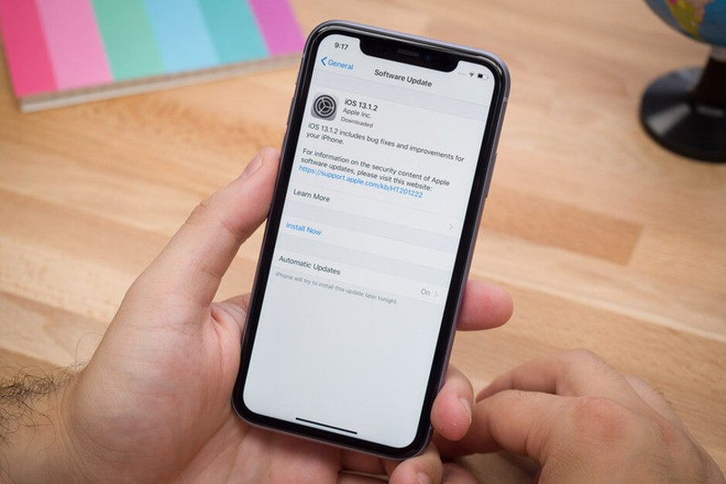 iOS 13 gap loi nghiem trong khien goi cuoc di dong can kiet dung luong