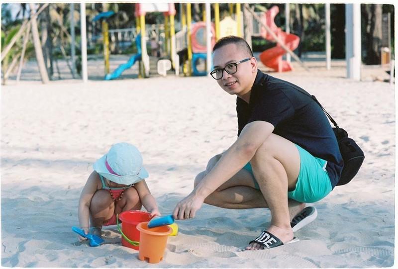 Ong bo dua vo bau, con nho phuot tu Ha Noi vao Quang Nam-Hinh-3