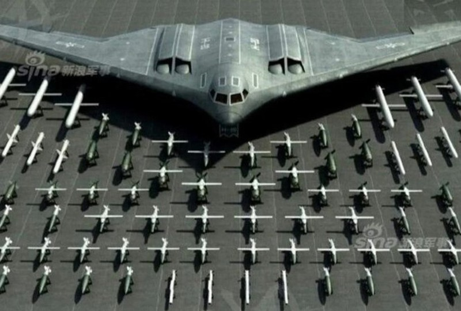 May bay nem bom tang hinh H-20 Trung Quoc