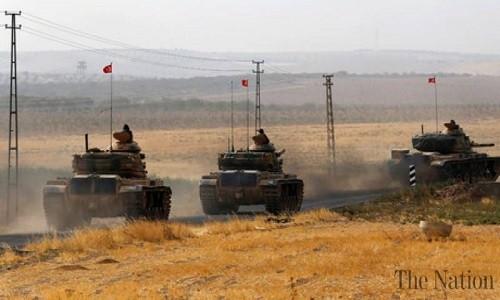 TNK na phao don dap vao Syria, 35 dan thuong thiet mang