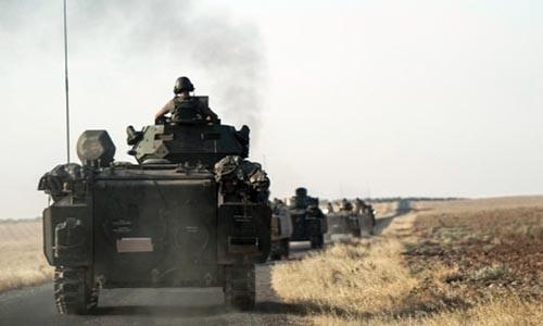 My phan doi viec Tho Nhi Ky danh nguoi Kurd Syria