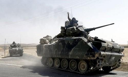 Tho Nhi Ky lai na phao don dap vao nguoi Kurd o Syria