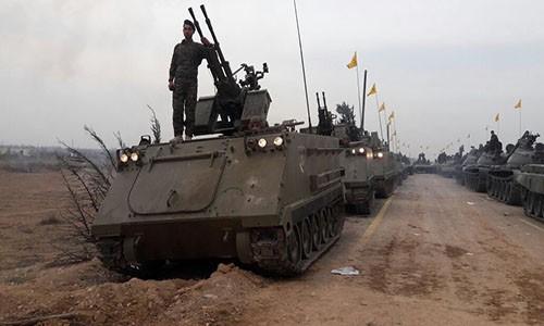 Phong trao Hezbollah dua them 5.000 tay sung toi Aleppo