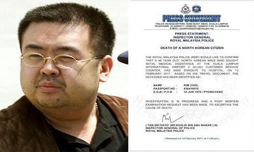Nhung phut cuoi cua anh trai Kim Jong-un tai san bay Malaysia