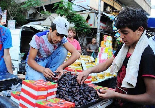 Canh mua sam o Damascus cho thang an chay Ramadan-Hinh-8