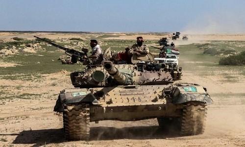 Quan doi Iraq giai phong 2/3 Thanh co Mosul