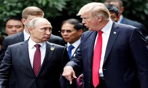 Tong thong Trump tiet lo noi dung tro chuyen voi ong Putin