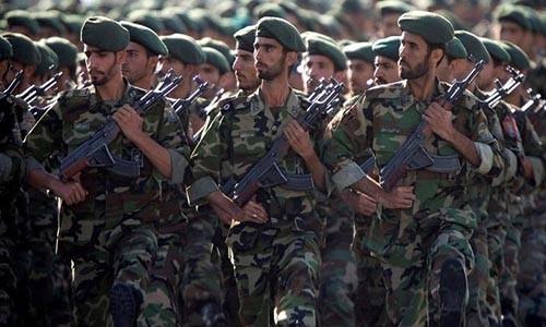 Tu lenh Ve binh Cach mang Iran thiet mang o Syria
