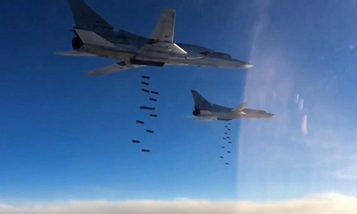 May bay nem bom tam xa Nga Tu-22M3 huy diet IS o Syria