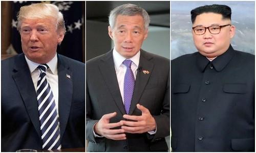 Chuyen co rieng cho ong Kim Jong-un dang bay toi Singapore