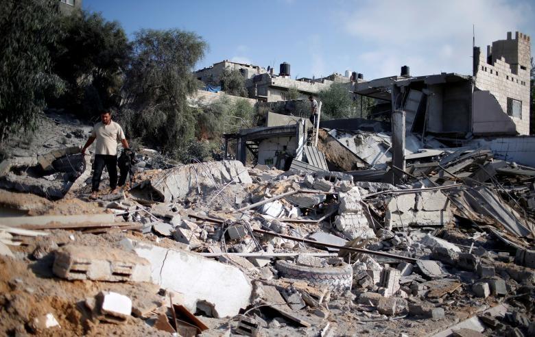 """Israel-Hamas doi dau, Dai Gaza hung du """"mua bom bao dan""""-Hinh-14"""