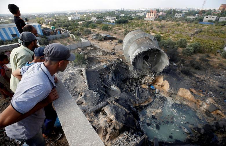 """Israel-Hamas doi dau, Dai Gaza hung du """"mua bom bao dan""""-Hinh-5"""
