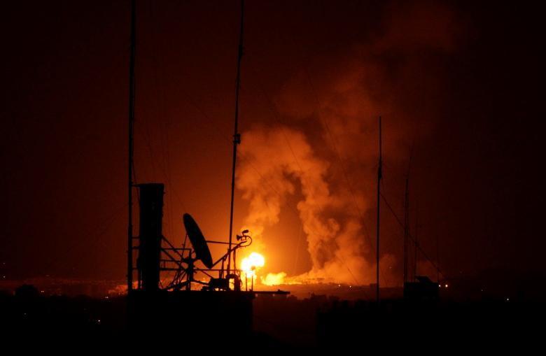 """Israel-Hamas doi dau, Dai Gaza hung du """"mua bom bao dan""""-Hinh-6"""