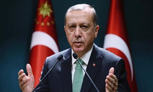 Tong thong Erdogan: Khong co tuong lai cho ong Assad tai Syria