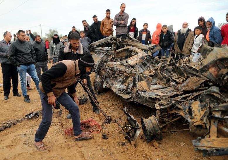 Hinh anh Dai Gaza ruc lua, Israel pha nat dai truyen hinh Hamas-Hinh-11