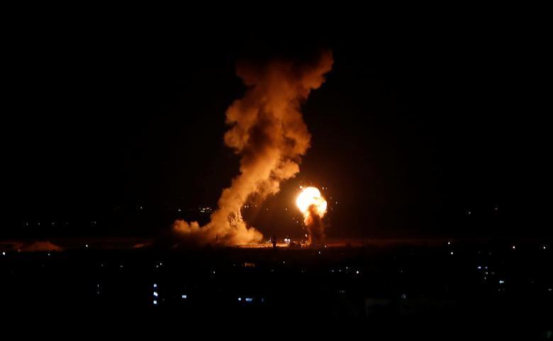 Hinh anh Dai Gaza ruc lua, Israel pha nat dai truyen hinh Hamas-Hinh-14