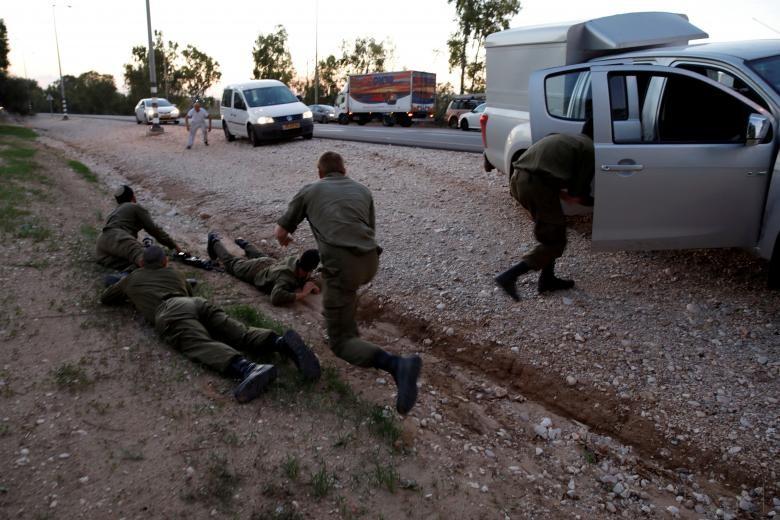 Hinh anh Dai Gaza ruc lua, Israel pha nat dai truyen hinh Hamas-Hinh-7