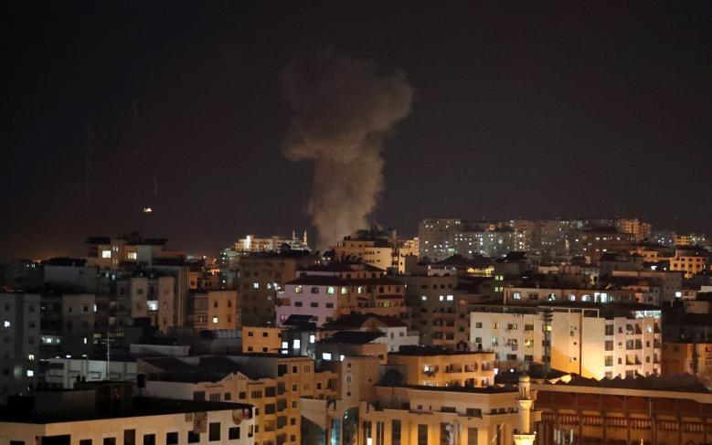 Hinh anh Dai Gaza ruc lua, Israel pha nat dai truyen hinh Hamas-Hinh-8