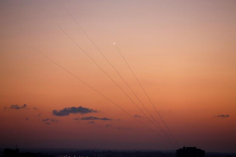 Hinh anh Dai Gaza ruc lua, Israel pha nat dai truyen hinh Hamas-Hinh-9