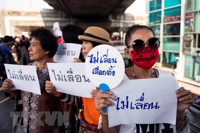 Thai Lan: Xuat hien tin don sap xay ra dao chinh o Bangkok