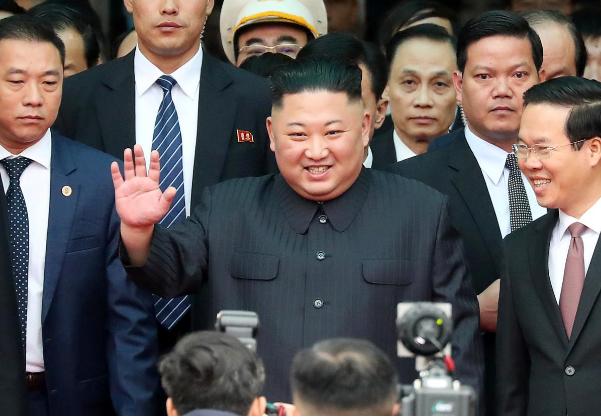 Chu tich Trieu Tien Kim Jong-un da den Viet Nam