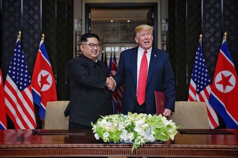 Lo dia diem ong Trump va ong Kim se hop thuong dinh?