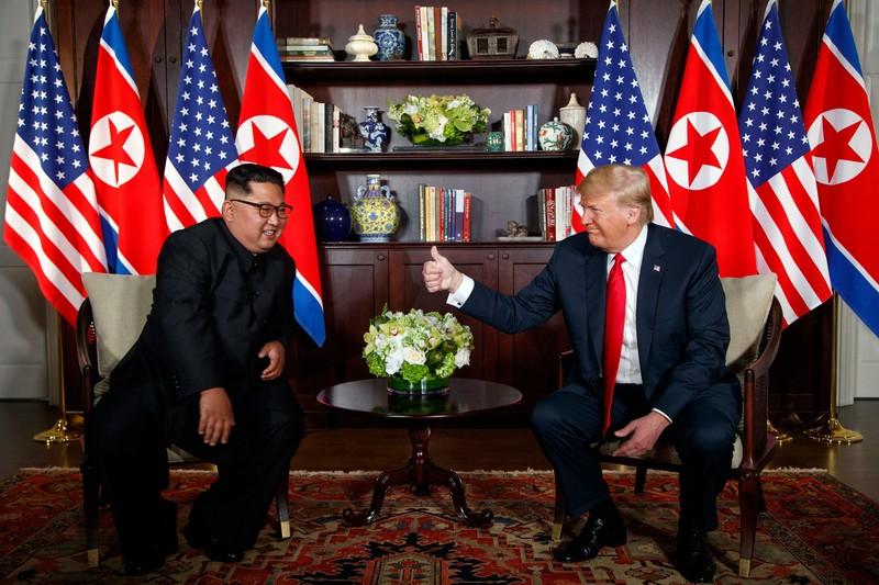 Tong thong Trump-Chu tich Kim se gap nhau 5 lan tai Ha Noi?