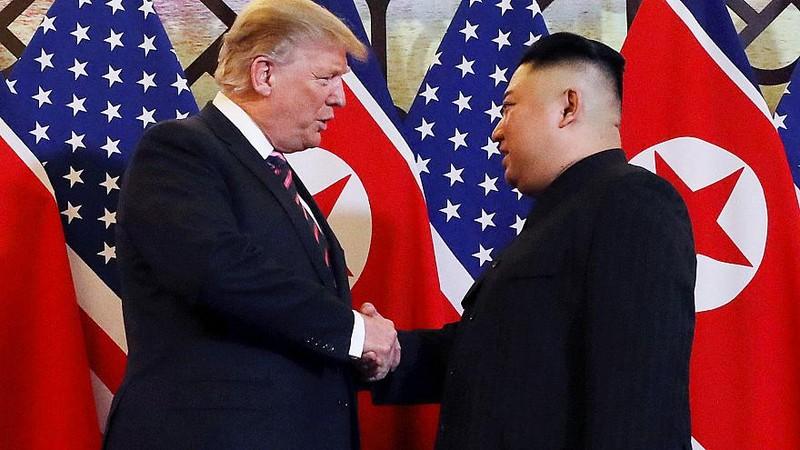 Tong thong Trump, Chu tich Kim se ky thoa thuan chung trong ngay 28/2