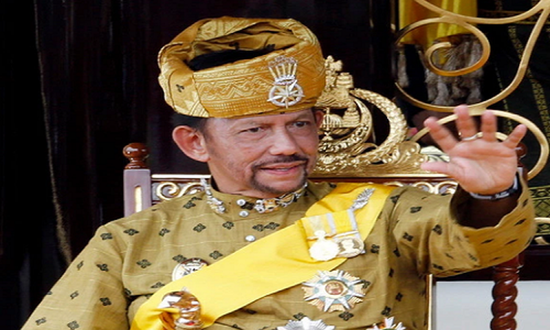 Cuoc song vuong gia cua Quoc vuong Brunei gio moi ke