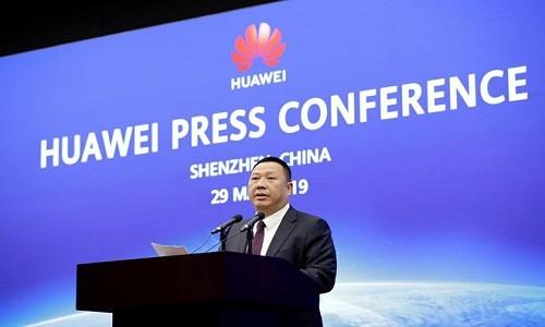 Tap doan Huawei tiep tuc kien chinh phu My