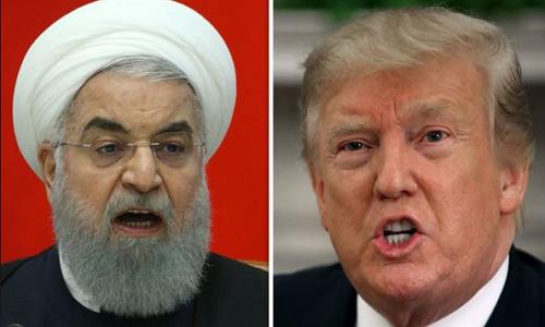 Cang thang My-Iran: Tehran lon tieng, Tong thong Trump