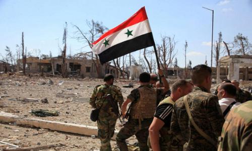 Phien quan IS phuc kich, tan sat binh si Syria tai Deir Ezzor
