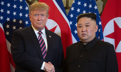 Tong thong Trump muon gap ong Kim tai khu phi quan su lien Trieu