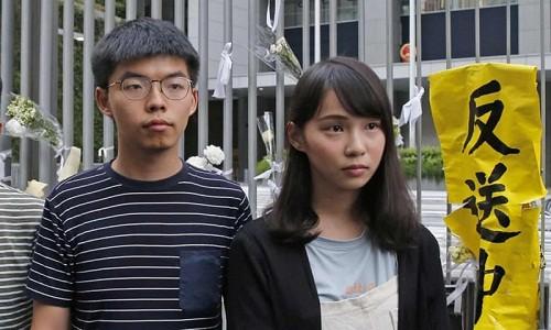 Nha hoat dong Hong Kong Joshua Wong bi bat giu